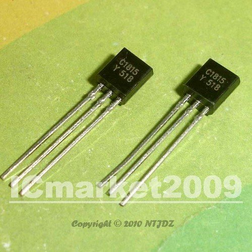 200 PCS 2SC1815-Y TO-92 2SC1815 C1815  NPN SILICON TRANSISTOR