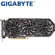 GIGABYTE Grafikkarte Original GTX 970 4GB 256Bit GDDR5 Video Karten für nVIDIA VGA Karten Geforce GTX970 Hdmi Dvi spiel Verwendet