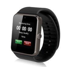 Android smart watch gt08 uhr mit sim einbauschlitz push-nachricht bluetooth smartwatch konnektivität telefon besser als dz09