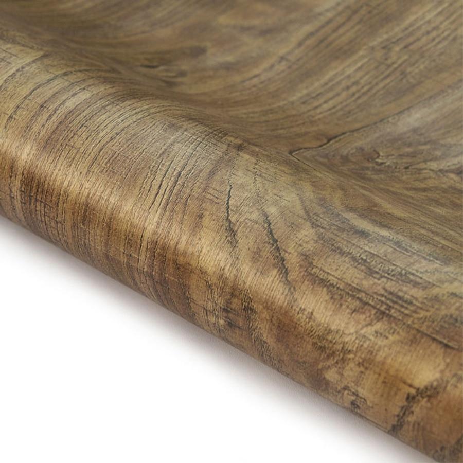 Faszinierend Vinyltapete Kleben Beste Wahl 45*500 Cm Möbel Holzmaserung Wand Aufkleber Rolle