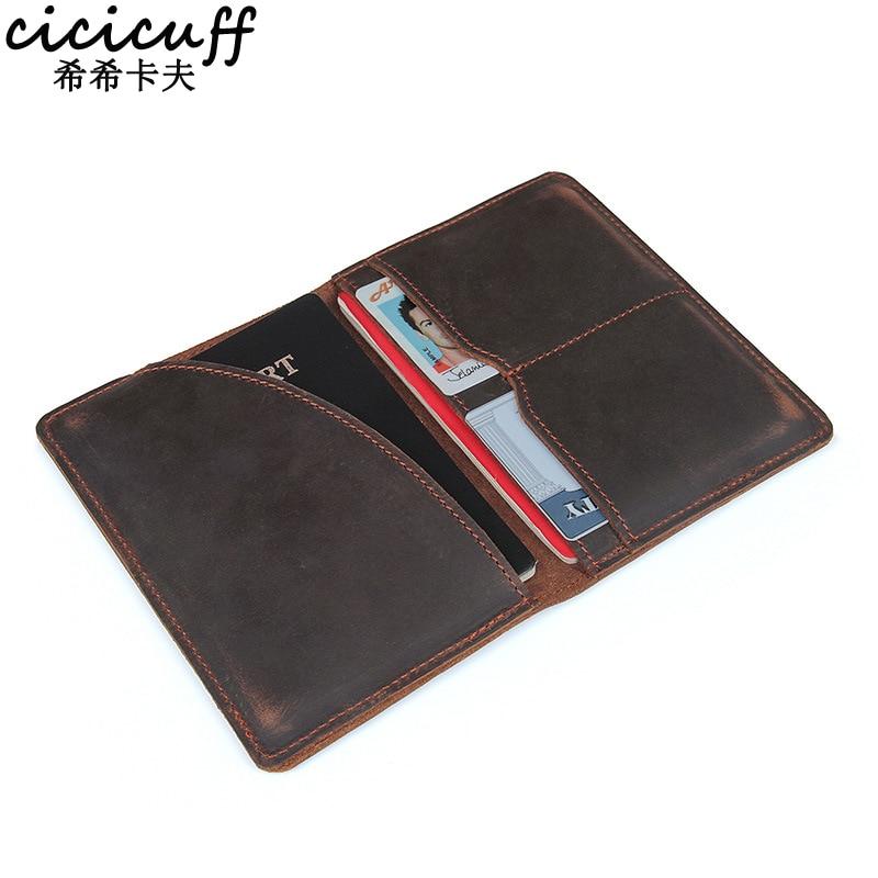 Passport Cover Genuine Leather…