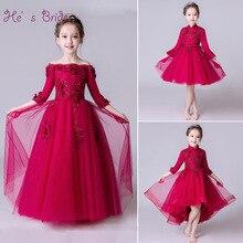 Vestidos Rojo Vino Para Ninas Hermosos Vestidos