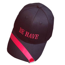 2018 New Be Have Letter printed Women Men Couple Embroidery Baseball Cap Unisex Snapback Hip Hop snapback Hat baseball cap(China)