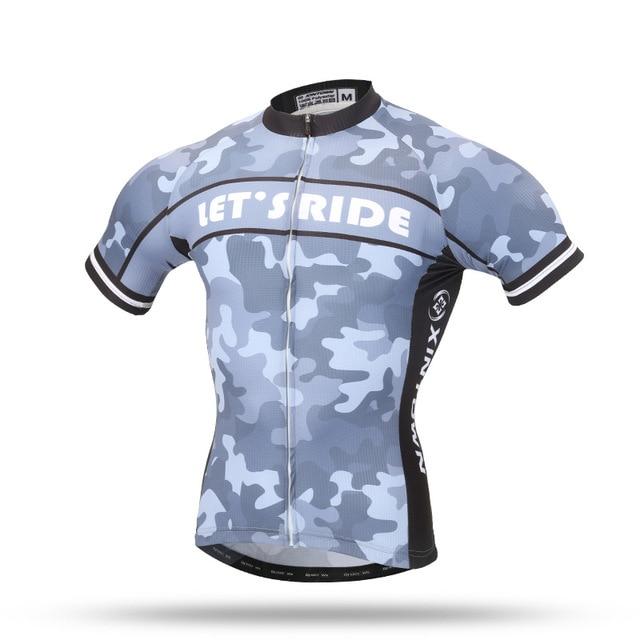 XINTWON Neue Männer Gear Radfahren Jersey Team Fahrrad Bekleidung Quick Dry Fahrrad Kurzarmhemd Top S 3XL-in Rad-Trikots aus Sport und Unterhaltung bei