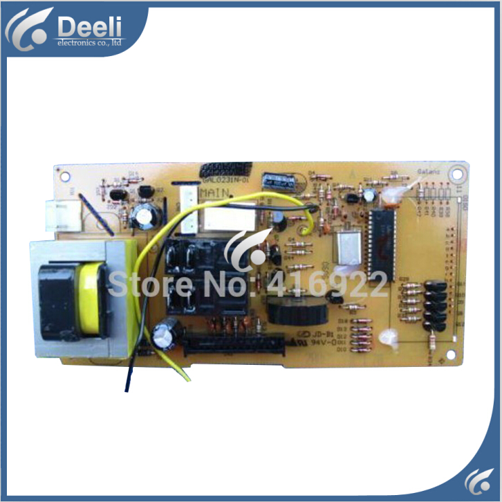 Free shipping 100% New original Microwave Oven computer board GAL0231N GAL0190N GAL0231-11 control mainboard on sale free delivery 323 car engine computer board ecu 5wk9037 7500255 specials are factory board computer