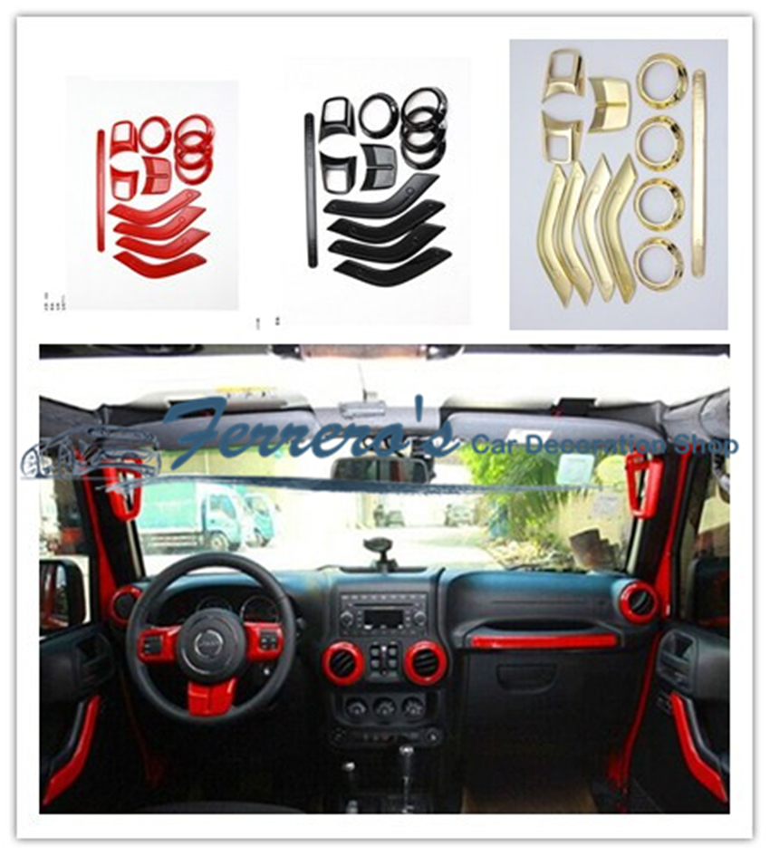 Popular jeep wrangler steering wheel cover buy cheap jeep wrangler steering wheel cover lots for Jeep wrangler interior accessories