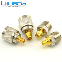 High Quality SMA UHF RF Adapter Kit SMA To UHF 4 Type RF Connectors Set SMA