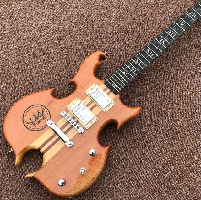 high quality, 6 Strings electric Guitar - Ebony fingerboard