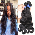 Grade 8a Brazilian Virgin Hair Body Wave 3/4 Bundle Deals brazilian Virgin Hair extensions Brazilian Body Wave Human Hair Weaves
