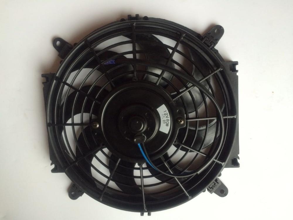 10 Inch Universal Auto Ac Electric Fan 12v 80watt Pull