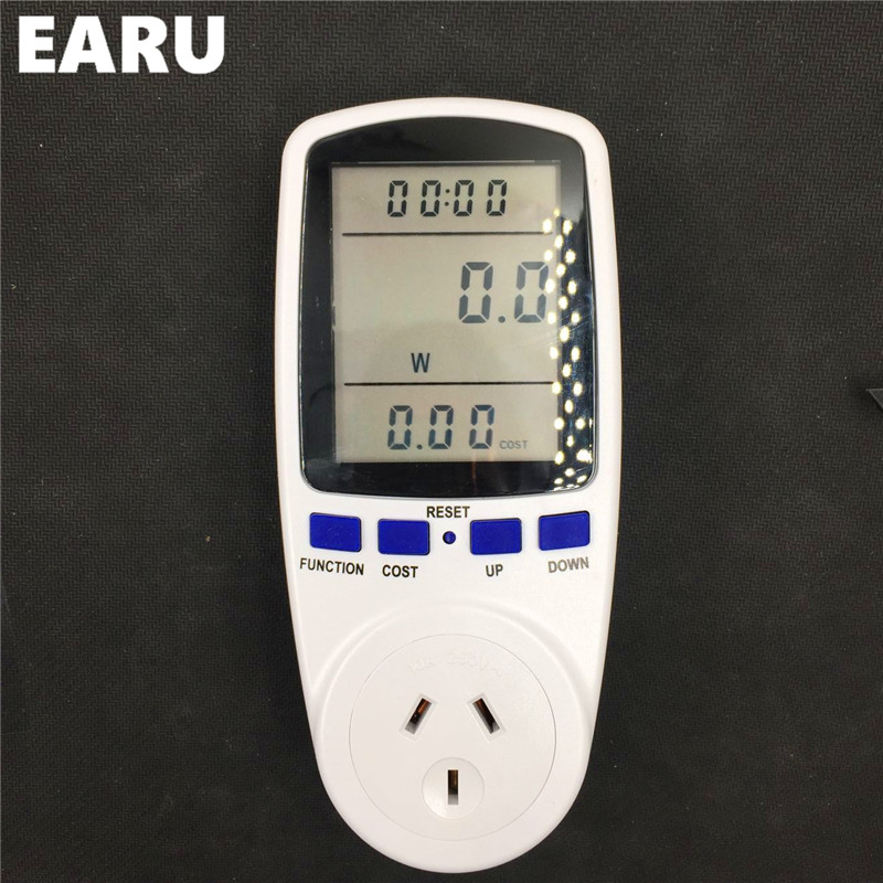 1pc smart home Electric Energy Saving Power Meter Consumption Electricity Usage Monitor Power Meter Reduce Your Energy Saver ...