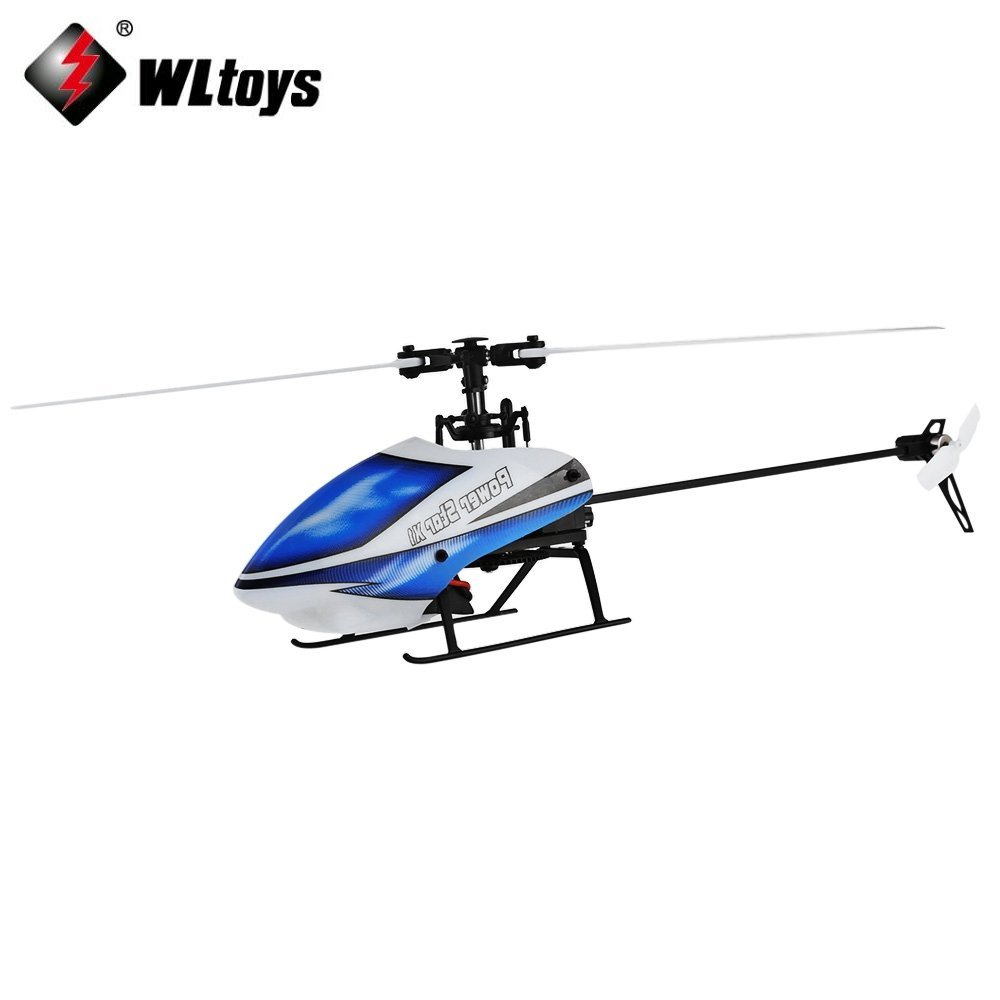 Wltoys V977 6CH RC 2.4GHz Gyroscope Remote Control Helicopter Brushless Flybarless 3D Aircraft wltoys v977 6ch 2 4g single blade rc helicopter 3d brushless flybarless wl v977 helicopter toy with 6 axis gyro free shipping