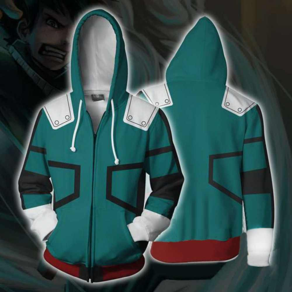 Detail Feedback Questions about my hero academia hoodie