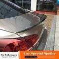 Для Volkswagen Passat CC 2009 до 2018 Авто ABS пластик Неокрашенный Черный белый задний Багажник крыло спойлер автомобильные аксессуары