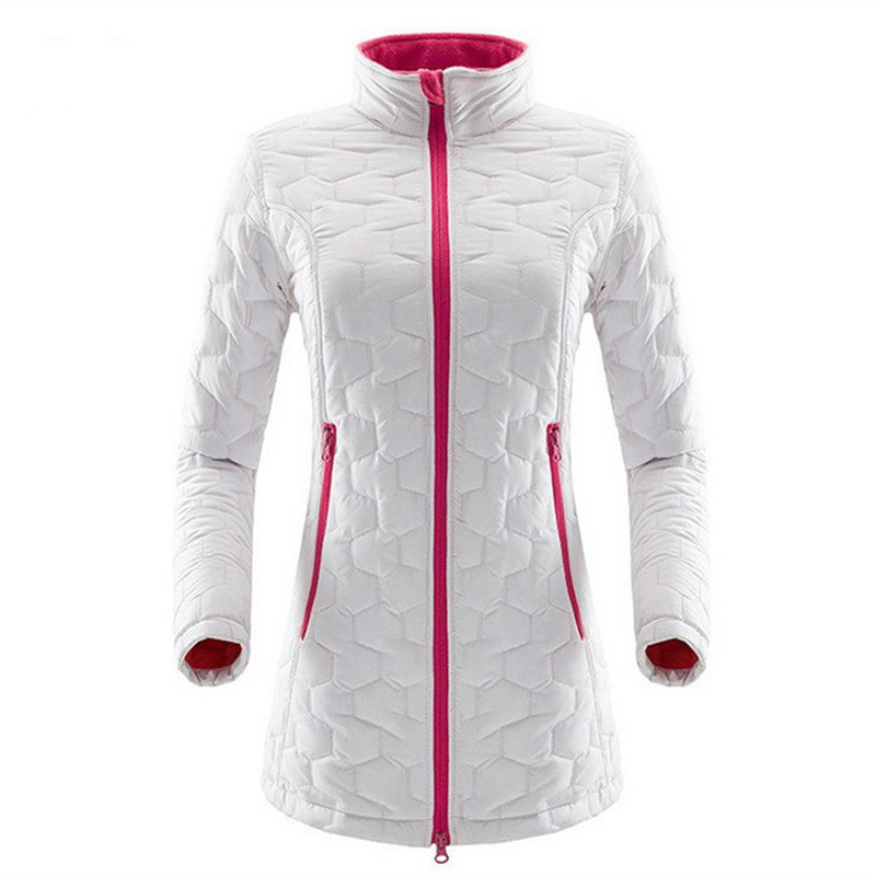 IEMUH Brand New Women Outdoors Sports Softshell Jacket Thicken Hiking Skiing Jacket Thermal Breathable Inner Long Fleece Jackets in Hiking Jackets from Sports Entertainment