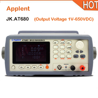 Applent new hot AT680 Capacitor Leakage Current Meter Tester Output Voltage 1V 650VDC
