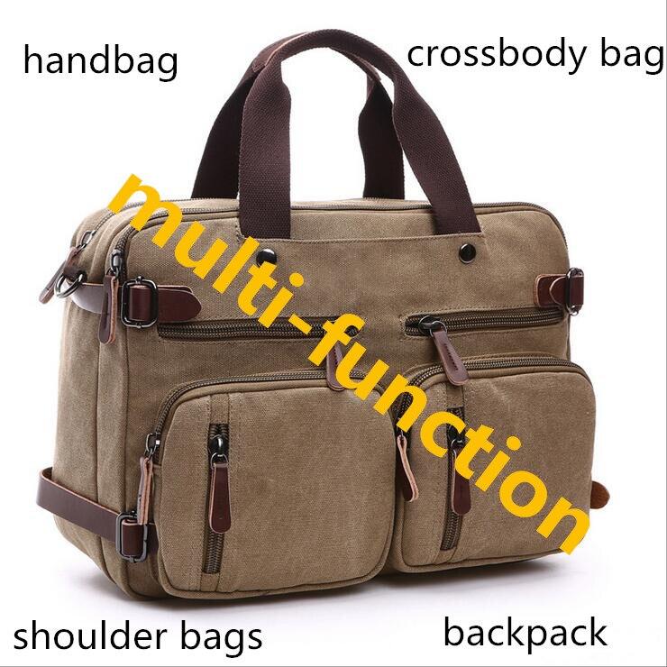 Nuevos bolsos de los hombres de los hombres bolsas de viaje de lona del hombro c
