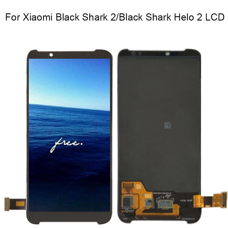 Pour Xiaomi BlackShark Helo 2 Lcd AWM-A0 pour Xiaomi noir requin 2 écran Lcd + écran tactile numériseur assemblée remplacement