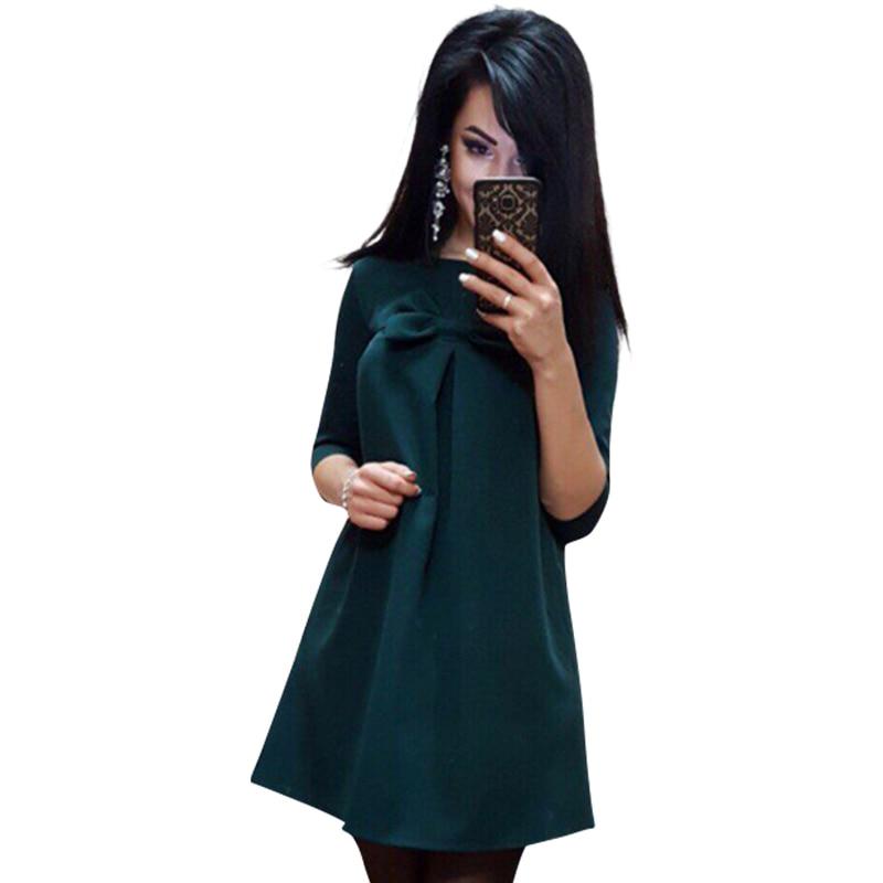 Mujeres de la manera vestidos de media manga mini vestidos bodycon mujeres verde