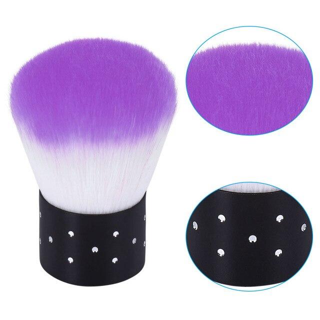 Elite99 Nagel Werkzeuge Pinsel Für Acryl & UV Gel Nail art Staub Reinigen Pinsel Maniküre Pediküre Werkzeug Rosa Blau Lila gelbe Rose Rot