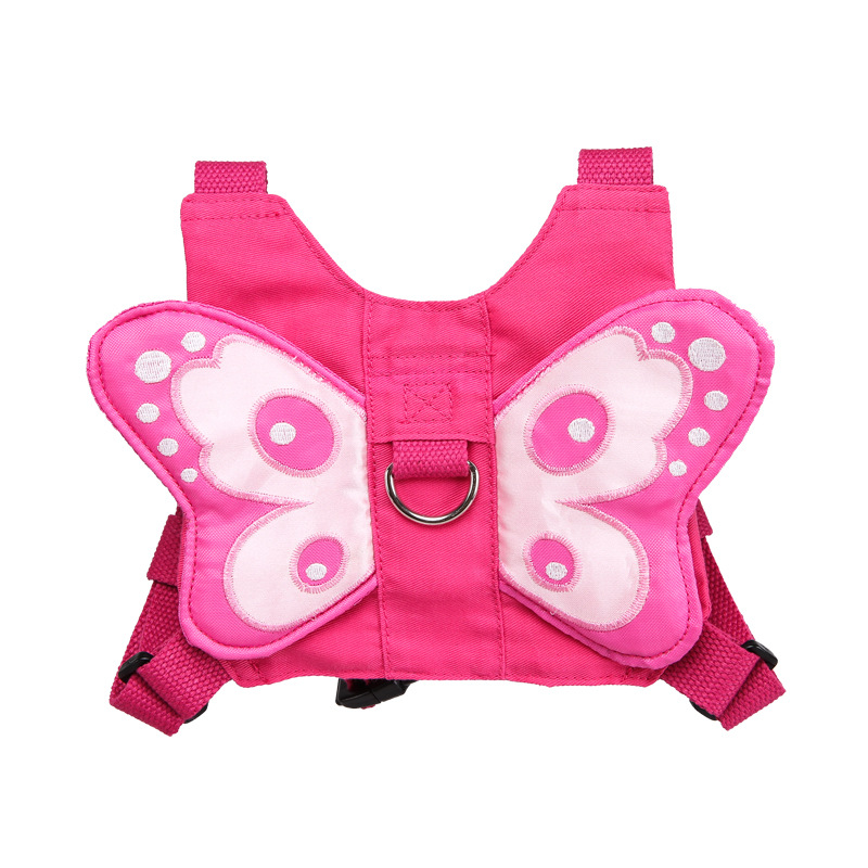 3D Butterfly Wings Backpack Kids Children School Bags Lovely Satchel School Knapsack Anti-lost Mini Baby Backpack Girls Bag
