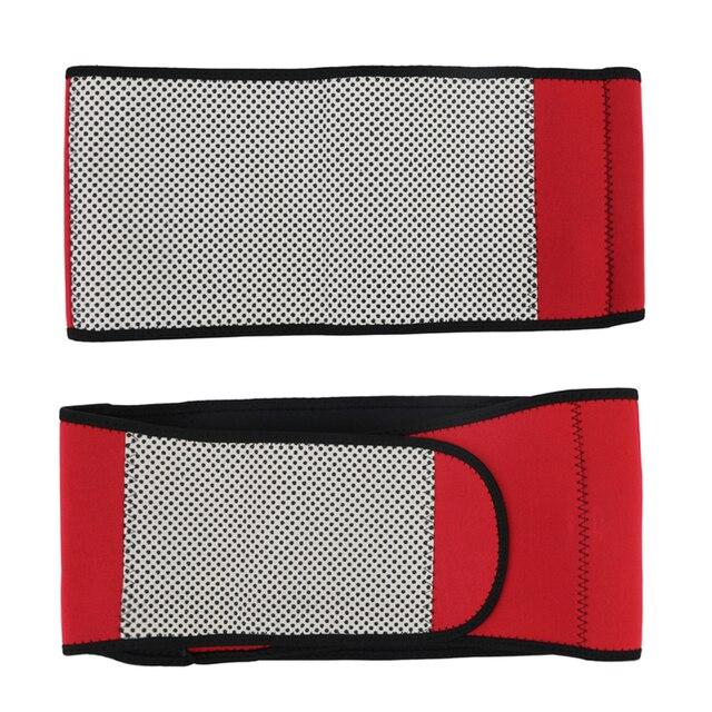 / Heating Waist Trimmer Sweat Belt Weight Loss Sports Girdle Belt Waist Trainer Belt Lower Back Pain Relief Belt Women Men 2019 4