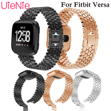 For Fitbit Versa smart watch strap replacement wristband for Fitbit Versa bracelet watchband aluminum bracelet accessories недорого