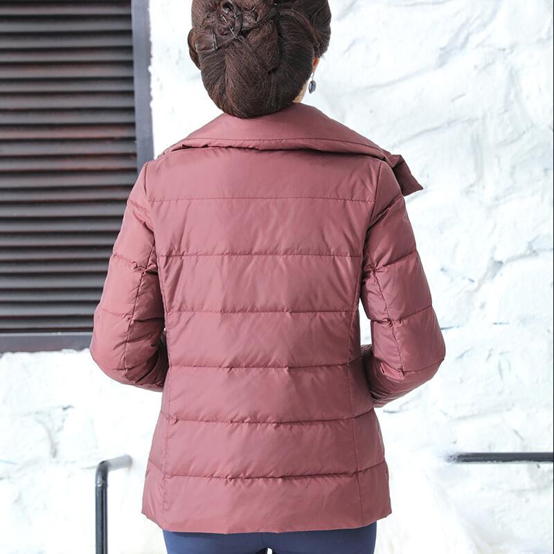 Rembourré Manteau Mujer lavande bourgogne Qualité Parka Haut Ly619 Abrigos Duvet Chaud Courte Blanc Femmes Canard Haute Noir Veste Col D'hiver 2017 Green army De wBxTZx7