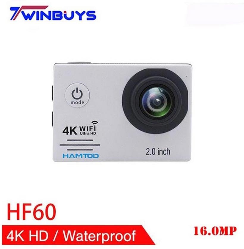 Sport & Action-videokameras Hamtod Hf60 4 K Wifi Action Kamera 2,0 Inch Lcd Display Tauchen Wasserdichte Mini Camcorder Sport Kameras Gc1034 120 Grad Kamera