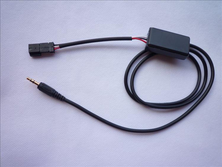 Aux en Radio Adaptador compatible con e38 e39 e46 e53 bm 54 radio Navi iPhone