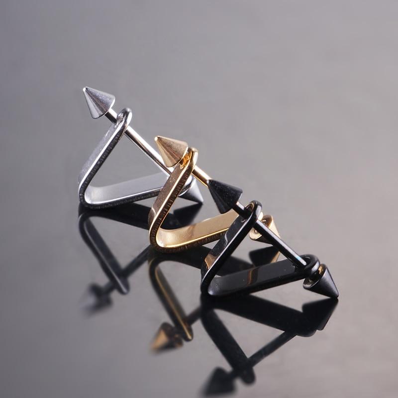 Spike σκουλαρίκια δροσερό αυτί stud από - Κοσμήματα μόδας - Φωτογραφία 5
