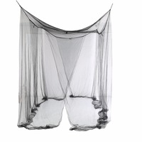 1pcs Elegant Lace Insect Bed Canopy Netting Curtain Dome Mosquito Net Worldwide 4 Doors Open For