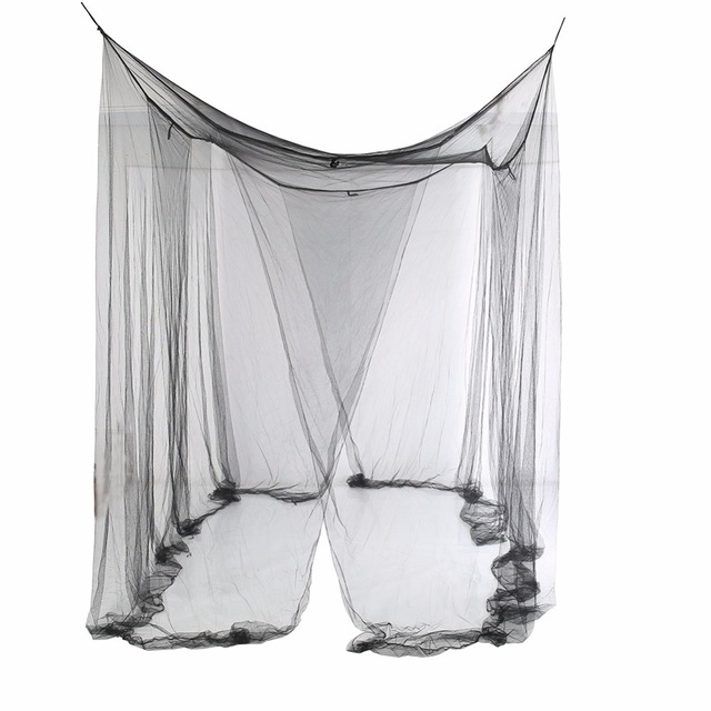 1pcs Elegant Lace Insect Bed Canopy Netting Curtain Dome Mosquito Net Worldwide 4 Doors Open for Bedding High Quality