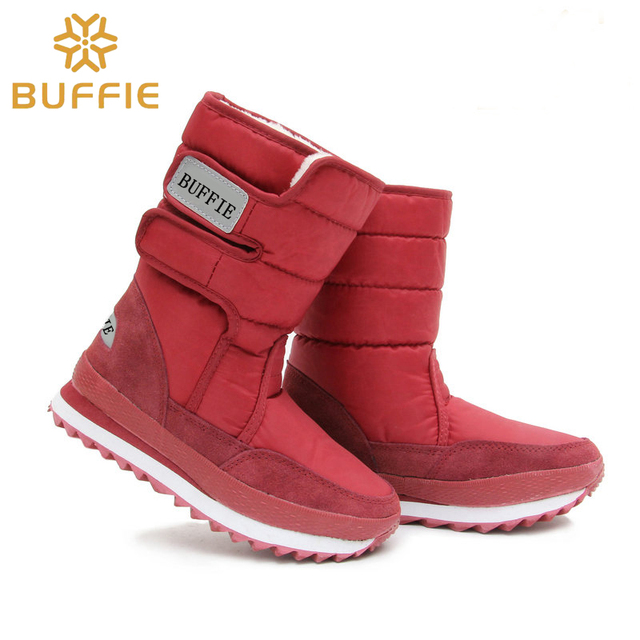6f0d52a5d62 2018 burgendy lady winter boots warm thick fur non-slip brand sakura snow shoes  boots free fast shipping discount price hot sell