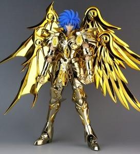 Image 2 - GT ของเล่นที่ยอดเยี่ยม Saint Seiya ตำนาน Soul of พระเจ้าทองผ้าโลหะ Gemini Saga SOG ไม่มีวัตถุ