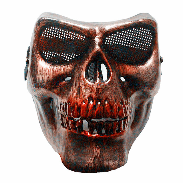 M02 Skull Mask Ghost Halloween scary mask cosplay airsoft mask horror paintball masque airsoftsports anonymous Carnaval Costume