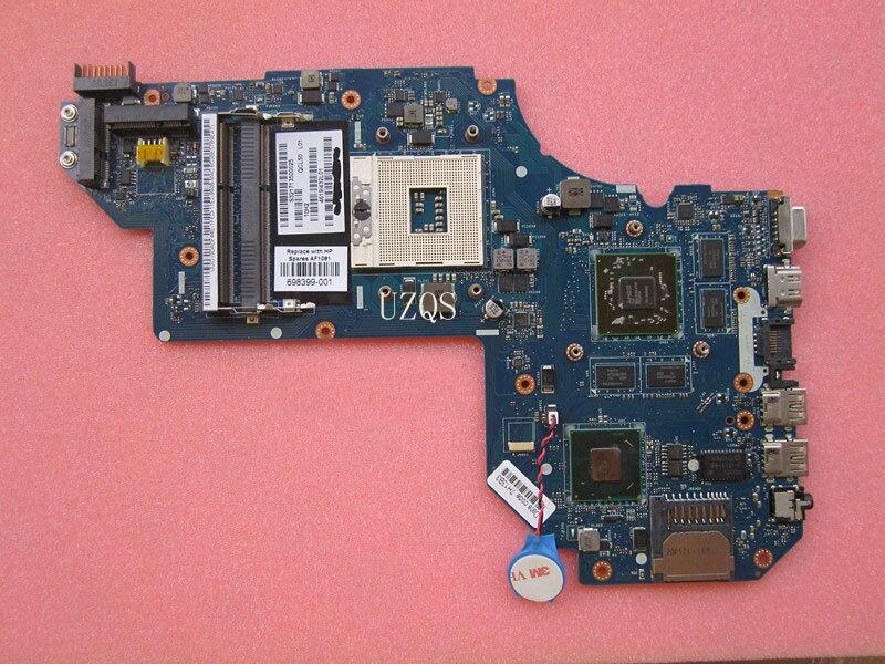 QCL50 LA-8711P 698399-501 698399-001 Main Board For HP M6 M6-1000 Laptop motheroard HD4000+HD 7670M 2GB DDR3
