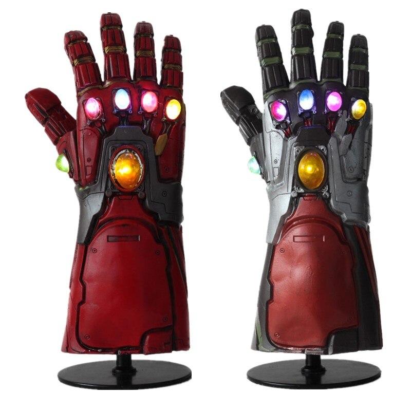 Iron Man Tony Stark LED Glove Avengers Endgame Infinity Handschuh Cosplay Props