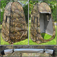 5 PCS LOT Portable Privacy Shower Toilet Camping Pop Up Camouflage Tent