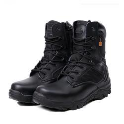 Для мужчин особой силой Водонепроницаемый кожаные дезерты рабочая обувь Для Мужчин's армейском полусапожки HH-914