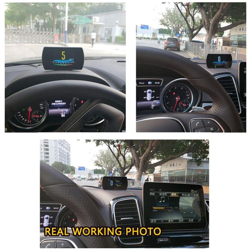 On-board Computer OBD Smart Digital Meter Speed Voltage RPM Fuel Consumption Meter HD Heads Up Display Car HUD стоимость