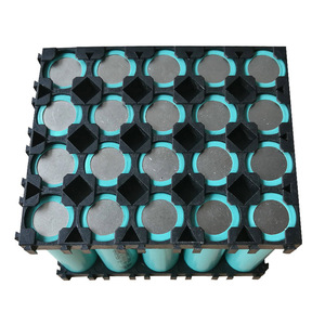 Image 3 - 10/20/30/40/50Pcs 4x5 Cell 18650 Batteries Spacer Holders Lightweight Durable Radiating Shell Plastic Bracket EM88