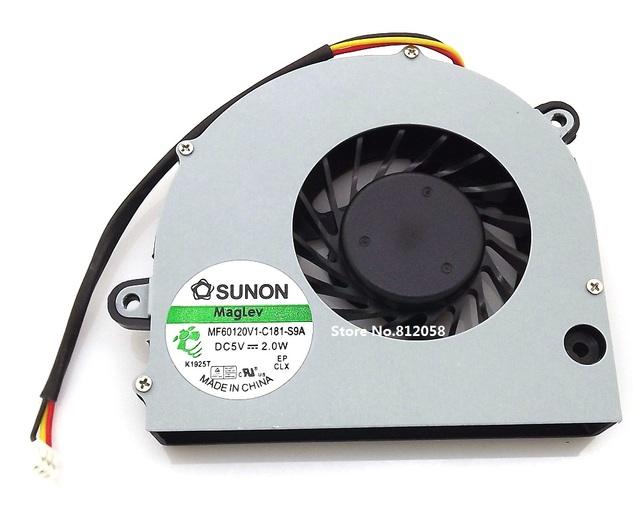 Cpu del Ordenador Portátil ventilador Para TOSHIBA C675 L770 L770D L775 L775D portátil Ventilador de la CPU