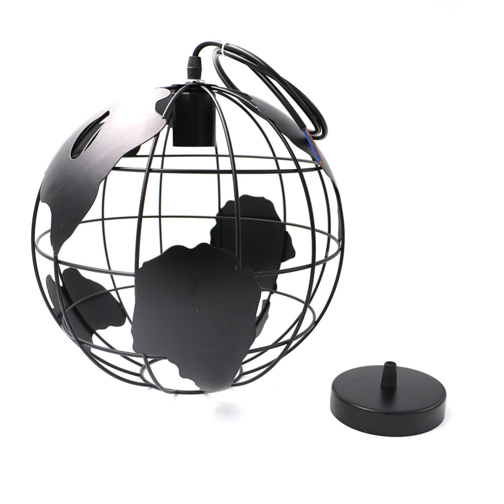 Modern Globe Pendant Lights Black/White Color Pendant Lamps For  Bar/Restaurant Hollow Ball Ceiling Fixtures In Pendant Lights From Lights U0026  Lighting On ...