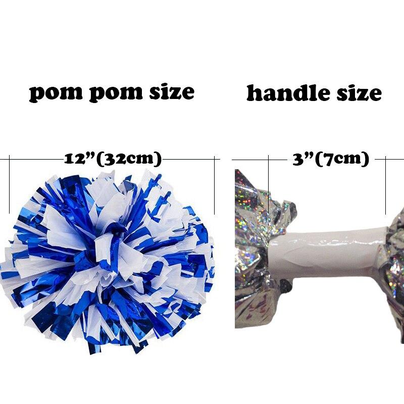Qalınlaşmır 1Piece Cheerleader Pom pom Metall Plastik 6