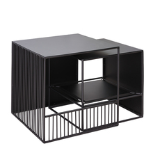 Sofa corner small coffee table simple modern small apartment living room small square table wrought iron mini sofa side table стоимость