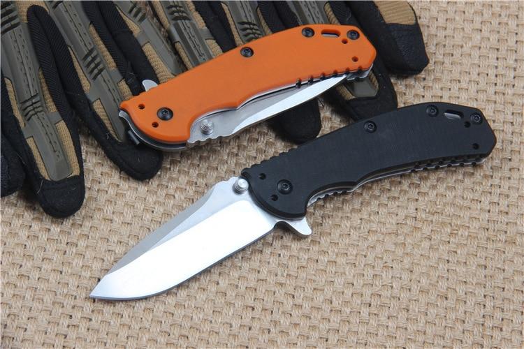 2 Options D2 Steel Pocket Knife Folding Knife Sharp Hunting Knife Camping Survival EDC Rescue Tools