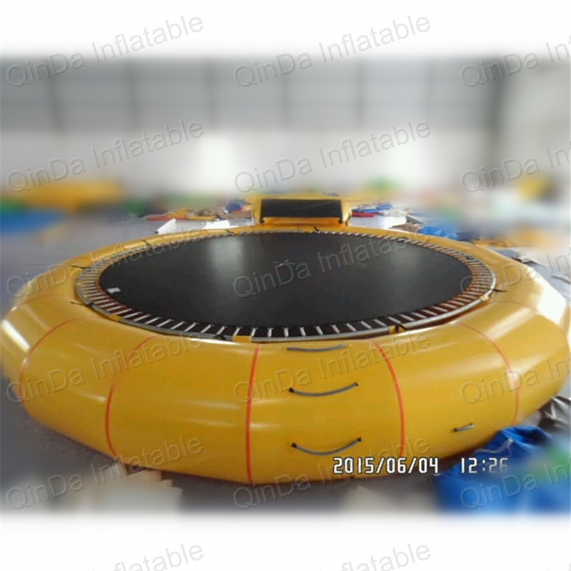 Promotion inflatable water trampoline,inflatable trampolines,Exciting Jumping Trampoline funny summer inflatable water games inflatable bounce water slide with stairs and blowers