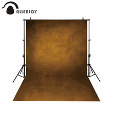 купить Allenjoy Thin Vinyl cloth photography Backdrop yellow Computer Printing Background for Wedding Photo Studio Pure Color MH-011 дешево