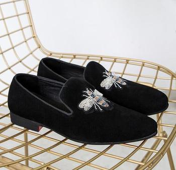 Mocasines KAEVE de ante negro para hombre, zapatos planos de ocio, Zapatillas...